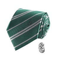 Tie with Pin Set - Slytherin Deluxe