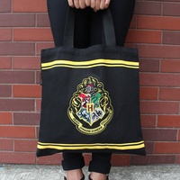 Hogwarts Tote Bag with Embroidered Crest