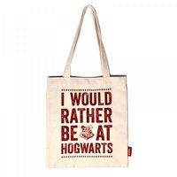 I Would Rather Be At Hogwarts Tote Shopper Extra Strong