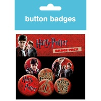 Button Badge 6 pack
