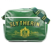 Slytherin Retro Bag with Team Quidditch House Crest