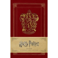 Softcover Gryffindor Ruled Notebook