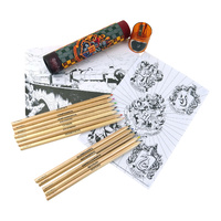 Colouring Pencils & Sharpener Set - Hogwarts Crest