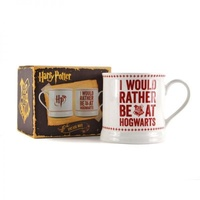 I Would Rather Be At Hogwarts Vintage Coffee Mug Cup