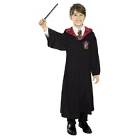 Harry Potter Classic Gryffindor Robe and Deluxe Wand Set from Rubies