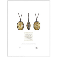 Regulus Black's Fake Slytherin Locket Limited Edition Print