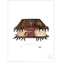 The Monster Book of Monsters Limited Edition Print