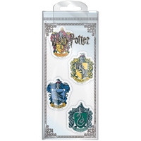 Eraser Set of 4 - Hogwarts Houses