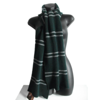 Knit Scarf - Slytherin Pure Lambswool