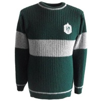 Knitted Quidditch Jumper Slytherin 100% Lambswool