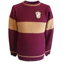 Knitted Quidditch Jumper Gryffindor 100% Lambswool