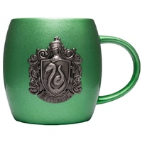 Slytherin Metallic Crest Mug