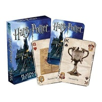 Harry Potter Playing Cards depicting Hogwarts Castle