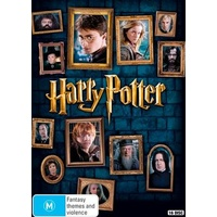 Harry Potter : 8-Film Collection DVD Box Set Region 4 for Australia