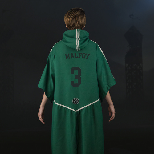 Slytherin Quidditch Robe with Personalised Lettering