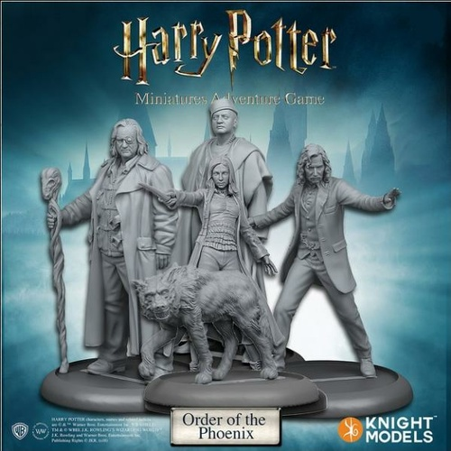 Harry Potter Miniatures 35mm 5 pack Order of the Phoenix