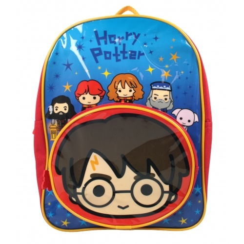 Harry Potter Charms Character Junior School Backpack with Front Pocket