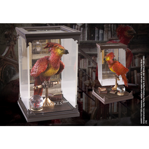 Fawkes The Phoenix Figurine - Magical Creatures