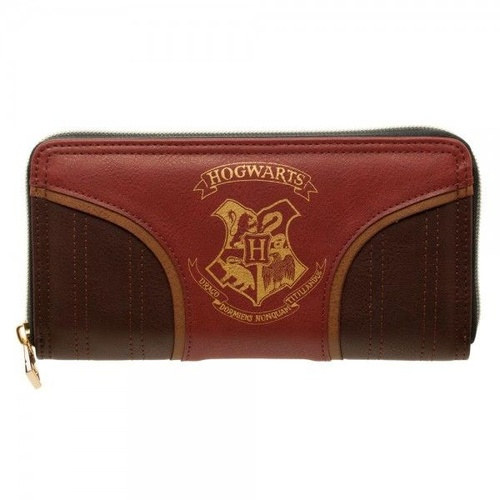Zip Wallet Gold Hogwarts Crest Purse
