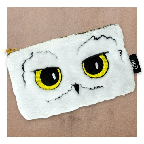 Hedwig Fur Pencil Case