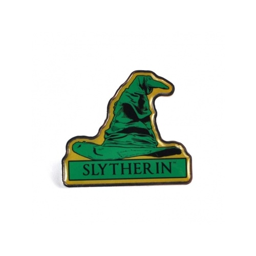 Pin Badge Slytherin Sorting Hat Enamel