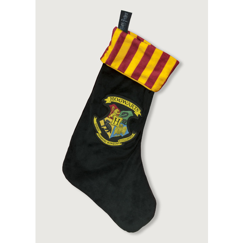 Harry Potter Hogwarts Fleece Christmas Stocking