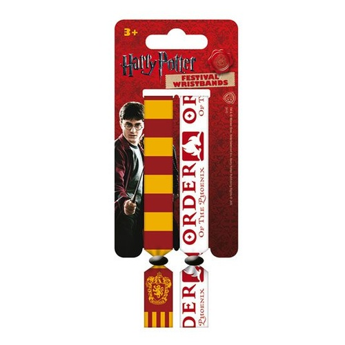 Festival Wristband 2-Pack - Gryffindor and Order of the Phoenix