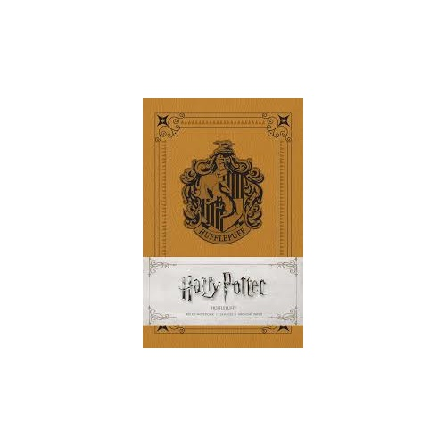 Hufflepuff Softcover Ruled Notebook