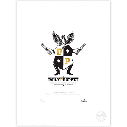 Daily Prophet Insignia Limited Edition Print