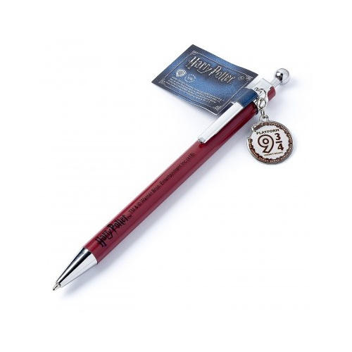 Platform 9 3/4 Pen with charm