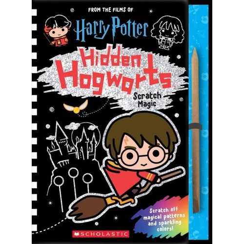 Scratch Magic Hidden Hogwarts from Scholastic