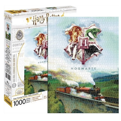 1000 Piece Harry Potter Hogwarts Journey Jig-Saw Puzzle
