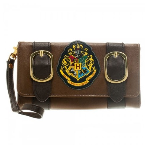 Wallet with Hogwarts Crest and strap Purse